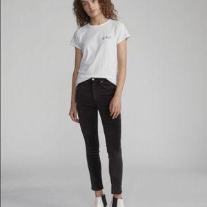 Rag and Bone skinny velvet pants